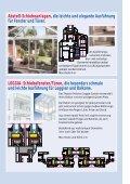 LOGGIA- Schiebefenster/Türen, die besonders schmale und leichte ... - Seite 4