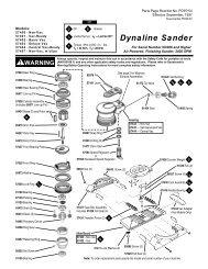 Dynaline Sander - Dynabrade Inc.