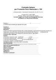 C[1].tto 102 - Frumento duro nazionale - Inter-Associativ–