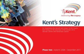 Kent's Strategy - Kent Sport