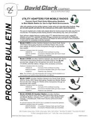 utility adapters for mobile radios - radio communications equipment