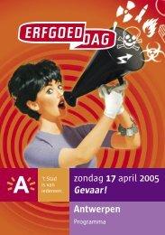 gevaarlijke - Erfgoedcel Antwerpen