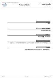 Produção Técnica - Coordenação de Aperfeiçoamento de Pessoal ...