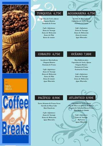 Coffee-breaks & Cócteles (pdf) - Hoteles Silken