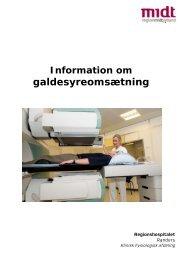 Galdesyreomsætning - Regionshospitalet Randers