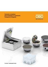 Soluções completas para instalação no pavimento - OBO Bettermann
