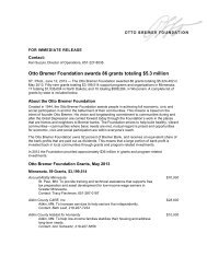 Otto Bremer Foundation awards 86 grants totaling $5.3 million