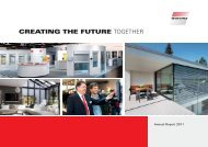 Annual Report 2011 - Warema