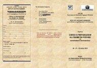 Corso per esame da fochino - Ordine dei Geologi della Lombardia