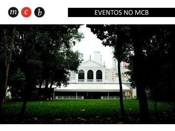 EVENTOS NO MCB - Museu da Casa Brasileira