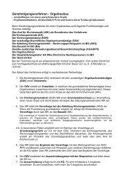 Genehmigungsverfahren - Orgelneubau - Amt für Kirchenmusik