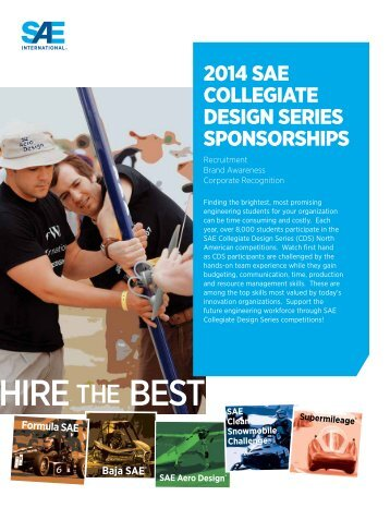 CDS Corporate Sponsorship - Students