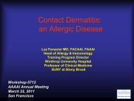 Contact Dermatitis: an Allergic Disease - AInotes