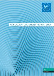 Annual Enforcement Report 2004 - UK Intellectual Property Office