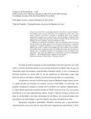 Geologia literária e histórica de Machado de Assis