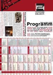 Monat 02-2009.indd - Tilsiter Lichtspiele