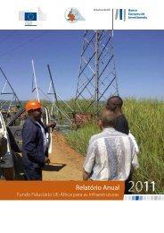 Relatório Anual Fundo Fiduciário UE-África para as Infraestruturas ...