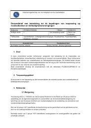 Bepalingen van toepassing op voedselbanken en ... - Favv