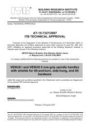 at-15-7327/2007 itb technical approval - Bopal.eu