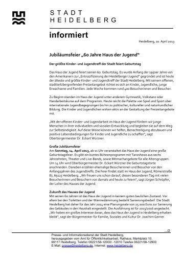 pa hd 10.4.2013 - Stadtpolitik Heidelberg