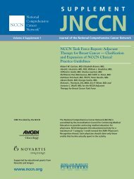 JNCCN NCCN Task Force Report: Adjuvant Therapy for Breast ...