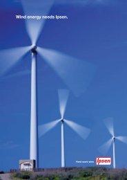 Wind energy needs Ipsen.