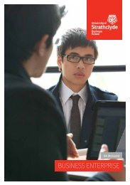 BUSINESS ENTERPRISE - Study in the UK