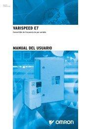 varispeed e7 manual del usuario - Carol Automatismos Igualada SA