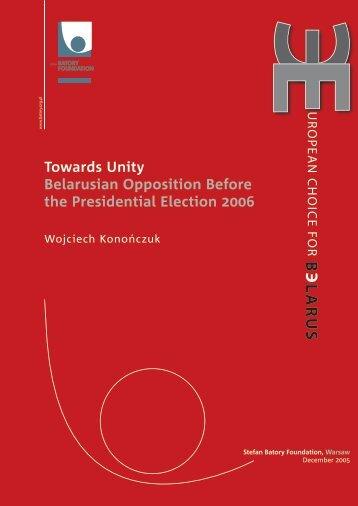 European Choice for Belarus - Towards Unity