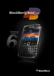 BlackBerry Bold 9780 Spec-Sheet - MobilityAdmin.de