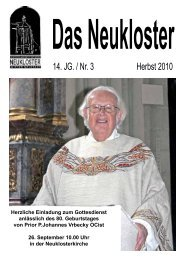 14. JG. / Nr. 3 Herbst 2010 - Neukloster