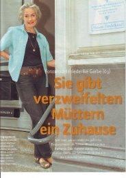 Porträit: Friedericke Garbe - Agape Haus