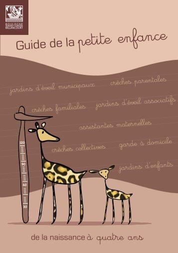 Guide petite enfance Boulogne- Billancourt