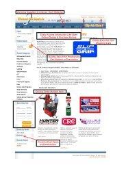 Important Website Tips - Wholesale Auto Supply Company