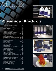 Maintex Catalog - Chemicals