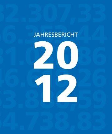 Jahresabschluss 2012 - Volksbank Hochwald-Saarburg eG