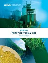 Biomass Program Multi-Year Program Plan: November 2012 Update
