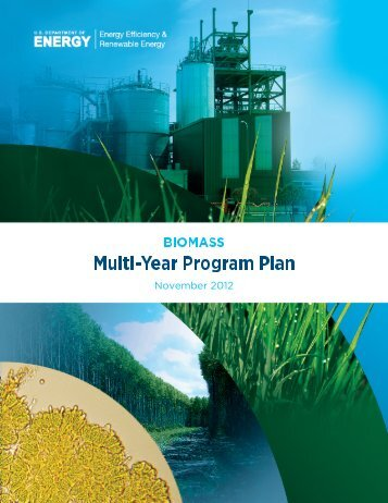 Biomass Program Multi-Year Program Plan: November 2012 Update