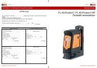 FL 40-Pocket II - Mészáros 2001 Kft