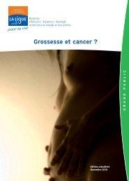 GROSSESSE & CANCER_nov_2010.indd - Ligue contre le cancer