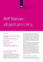 RVP Nieuws 28 april 2011 | nr 5 - Caransscoop