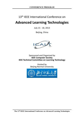 Advanced Learning Technologies - Advanced Digital Systems and ...