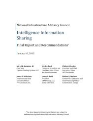 Intelligence Information Sharing - Financial and Banking Information ...