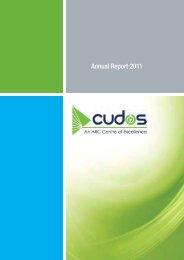 2011 Annual Report (low res) - Cudos
