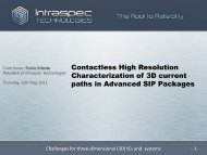 Contactless High Resolution Characterization of 3D current paths in ...