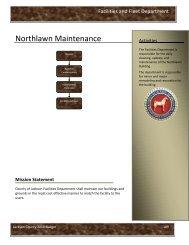 Northlawn Maintenance - Jackson County, Michigan