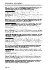 Planning & Treeworks applications 28 November - North Norfolk ...