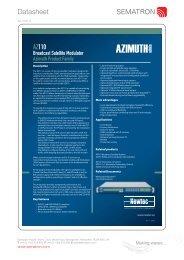 Data Sheet - Sematron UK Ltd.