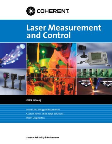 Laser Measurement and Control - Coherent