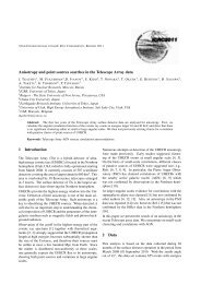 Anisotropy and point sources searches in the Telescope Array data ...